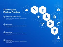 SEO For Sports Medicine Practices Ppt Powerpoint Presentation Layouts Inspiration
