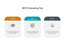 SEO Forecasting Tool Ppt Powerpoint Presentation Show Slide Cpb