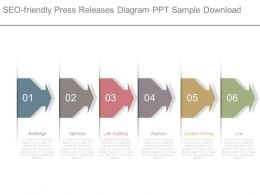 Seo Friendly Press Releases Diagram Ppt Sample Download
