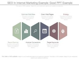 Seo In Internet Marketing Example Good Ppt Example