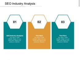 SEO Industry Analysis Ppt Powerpoint Presentation Slides Example Topics Cpb