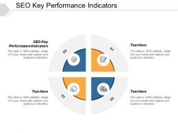 SEO Key Performance Indicators Ppt Powerpoint Presentation Model Pictures Cpb