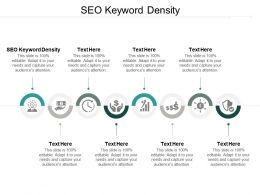Seo Keyword Density Ppt Powerpoint Presentation Pictures Deck Cpb