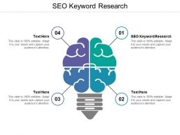Seo Keyword Research Ppt Powerpoint Presentation Pictures Design Ideas Cpb