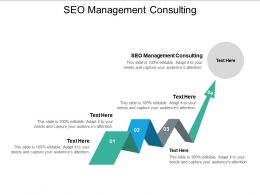SEO Management Consulting Ppt Powerpoint Presentation Icon Pictures Cpb