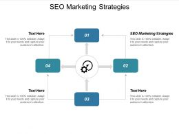 Seo Marketing Strategies Ppt Powerpoint Presentation Show Deck Cpb
