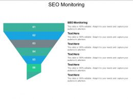 SEO Monitoring Ppt Powerpoint Presentation File Slides Cpb