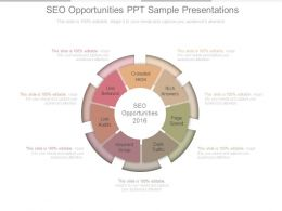 Seo Opportunities Ppt Sample Presentations