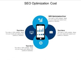 SEO Optimization Cost Ppt Powerpoint Presentation Infographic Template Outfit Cpb