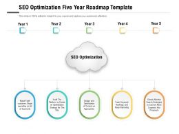 SEO Optimization Five Year Roadmap Template