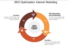 SEO Optimization Internet Marketing Ppt Powerpoint Presentation Inspiration Infographic Cpb