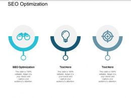 SEO Optimization Ppt Powerpoint Presentation Layouts Images Cpb
