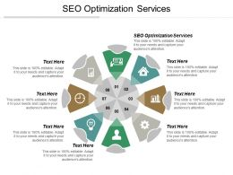 Seo Optimization Services Ppt Powerpoint Presentation Professional Themes Cpb