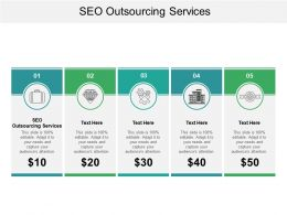 Seo Outsourcing Services Ppt Powerpoint Presentation Gallery Guide Cpb