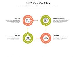 SEO Pay Per Click Ppt Powerpoint Presentation Inspiration Designs Download Cpb