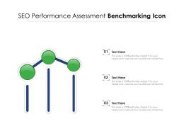 SEO Performance Assessment Benchmarking Icon