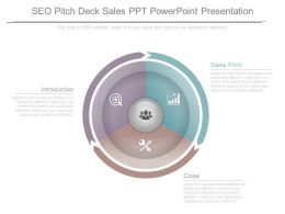 Seo Pitch Deck Sales Ppt Powerpoint Presentation