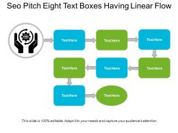 Seo Pitch Eight Text Boxes Having Linear Flow