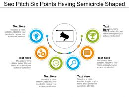 Seo Pitch Six Points Having Semicircle Shaped