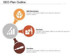 SEO Plan Outline Ppt Powerpoint Presentation Infographic Template Slide Portrait Cpb