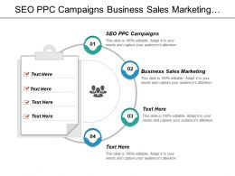 Seo Ppc Campaigns Business Sales Marketing Engaging Customer Cpb