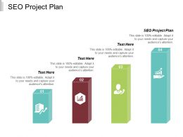 SEO Project Plan Ppt Powerpoint Presentation Slides Maker Cpb