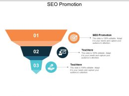 SEO Promotion Ppt Powerpoint Presentation Portfolio Gridlines Cpb