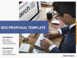 Seo Proposal Template Powerpoint Presentation Slides