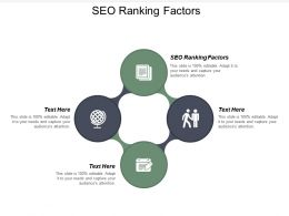 SEO Ranking Factors Ppt Powerpoint Presentation Icon Maker Cpb