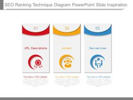 Seo Ranking Technique Diagram Powerpoint Slide Inspiration