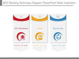 Seo Ranking Technique Diagram Powerpoint Slide Inspiration