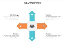 SEO Rankings Ppt Powerpoint Presentation Gallery Slides Cpb