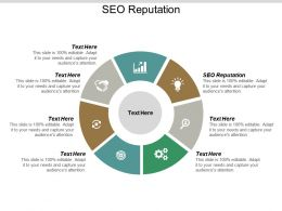 SEO Reputation Ppt Powerpoint Presentation Show Infographic Template Cpb