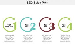SEO Sales Pitch Ppt Powerpoint Presentation Professional Designs Cpb