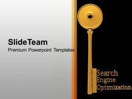 SEO Search Engine Optimization Key Business PowerPoint Templates PPT Themes And Graphics 0213