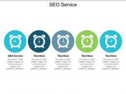 SEO Service Ppt Powerpoint Presentation Infographic Template Show Cpb