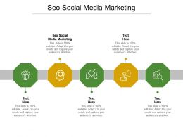 SEO Social Media Marketing Ppt Powerpoint Presentation File Structure Cpb