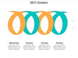 SEO Solution Ppt Powerpoint Presentation Outline Samples Cpb