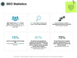 SEO Statistics Finance Ppt Powerpoint Presentation Layouts Guide