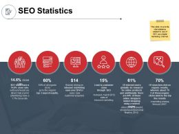 SEO Statistics Technology Ppt Powerpoint Presentation Template Professional
