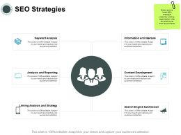 SEO Strategies Development Ppt Powerpoint Presentation Diagram Graph Charts
