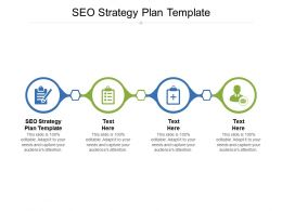 SEO Strategy Plan Template Ppt Powerpoint Presentation Icon File Formats Cpb