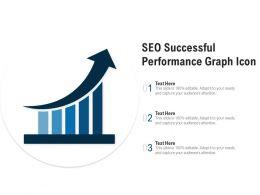 SEO Successful Performance Graph Icon
