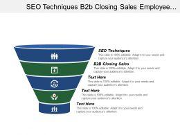 Seo Techniques B2b Closing Sales Employee Performance Reviews