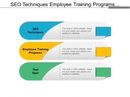 Seo Techniques Employee Training Programs Customer Information Management