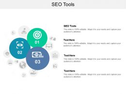 SEO Tools Ppt Powerpoint Presentation Tips Cpb