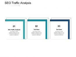 SEO Traffic Analysis Ppt Powerpoint Presentation Outline Themes Cpb