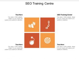 Seo Training Centre Ppt Powerpoint Presentation Gallery Slide Download Cpb