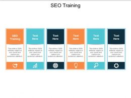 SEO Training Ppt Powerpoint Presentation Outline Deck Cpb