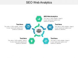 SEO Web Analytics Ppt Powerpoint Presentation Infographics Designs Download Cpb